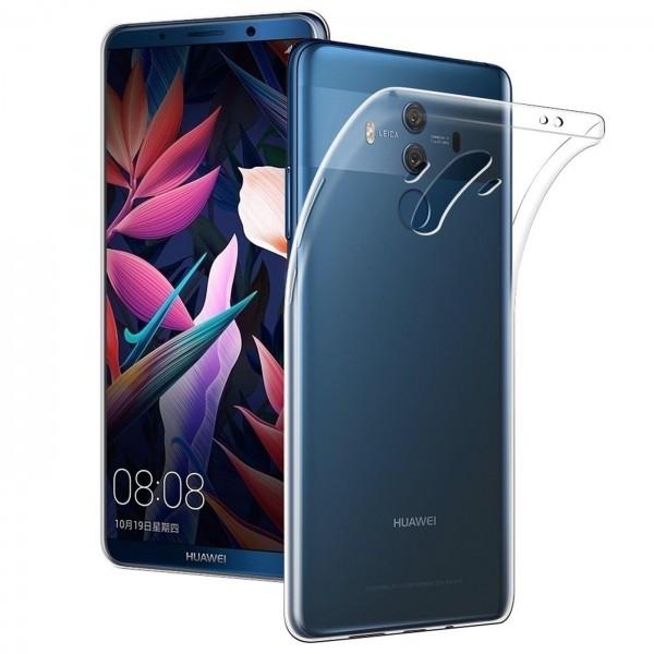 Safers Zero Case für Huawei Mate 10 Pro Hülle Transparent Slim Cover Clear Schutzhülle