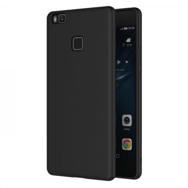 Safers Classic TPU für Huawei P9 Lite Schutzhülle Hülle Schwarz Handy Case