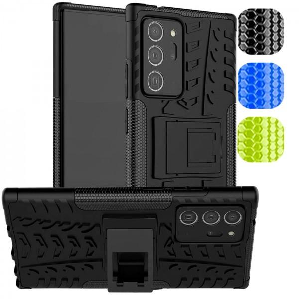 Safers Outdoor Hülle für Samsung Galaxy Note 20 Ultra Case Hybrid Armor Cover Schutzhülle