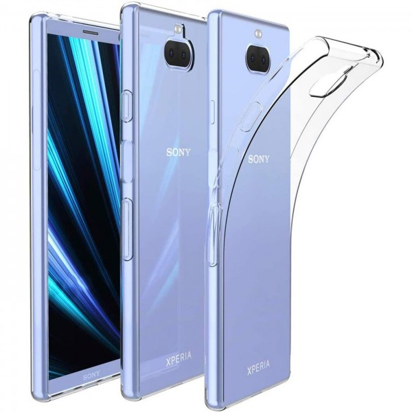 Safers Zero Case für Sony Xperia 10 Plus Hülle Transparent Slim Cover Clear Schutzhülle