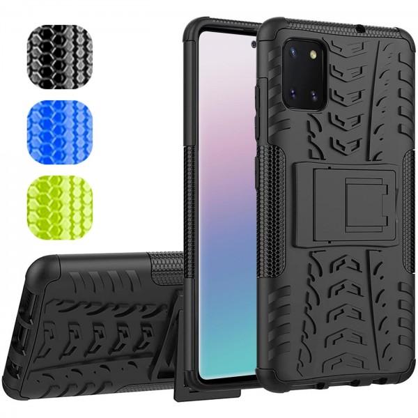 Safers Outdoor Hülle für Samsung Galaxy Note 10 Lite Case Hybrid Armor Cover Schutzhülle