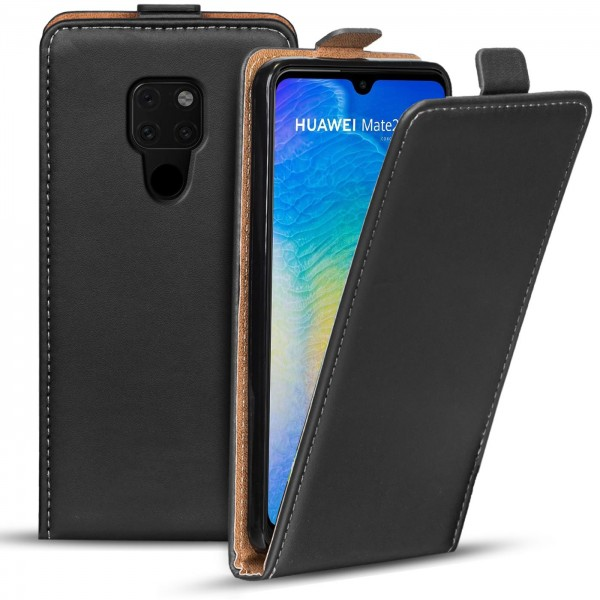 Safers Flipcase für Huawei Mate 20 Hülle Klapphülle Cover klassische Handy Schutzhülle