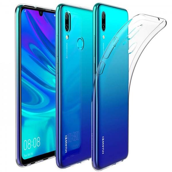 Safers Zero Case für Huawei P Smart 2019 Hülle Transparent Slim Cover Clear Schutzhülle