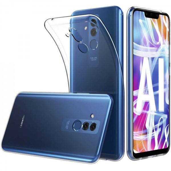 Safers Zero Case für Huawei Mate 20 Lite Hülle Transparent Slim Cover Clear Schutzhülle