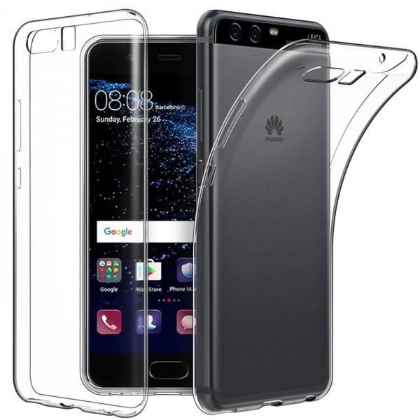 Safers Zero Case für Huawei P10 Plus Hülle Transparent Slim Cover Clear Schutzhülle