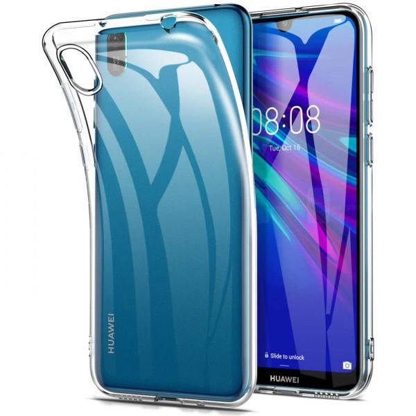 Safers Zero Case für Huawei Y5 2019 Hülle Transparent Slim Cover Clear Schutzhülle