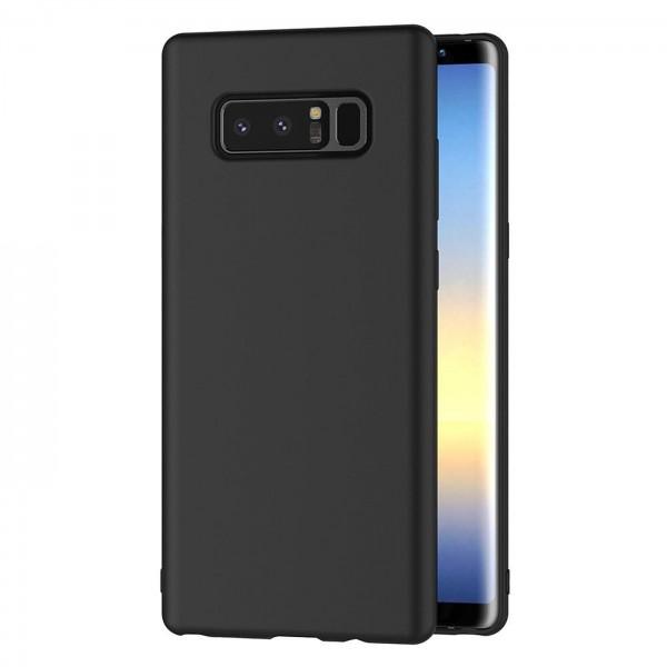 Safers Classic TPU für Samsung Galaxy Note 8 Schutzhülle Hülle Schwarz Handy Case