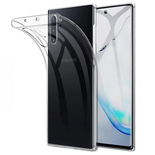 Safers Zero Case für Samsung Galaxy Note 10 Plus Hülle Transparent Slim Cover Clear Schutzhülle