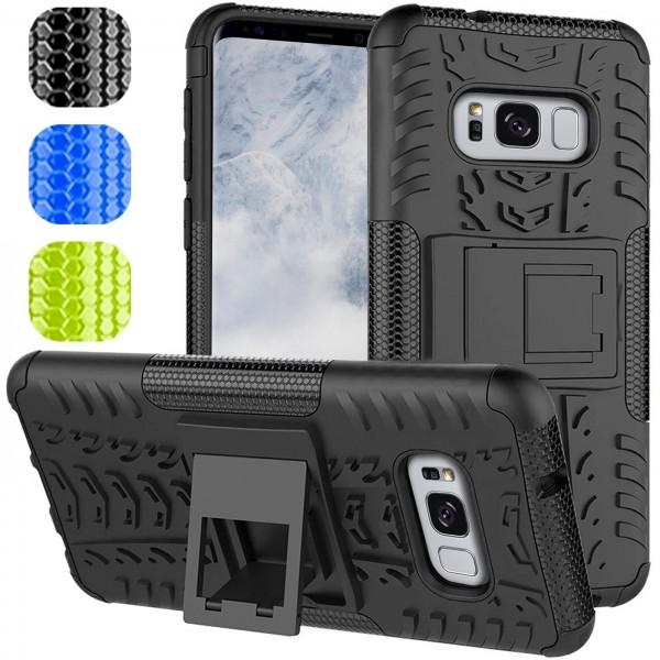 Safers Outdoor Hülle für Samsung Galaxy S8 Case Hybrid Armor Cover Schutzhülle