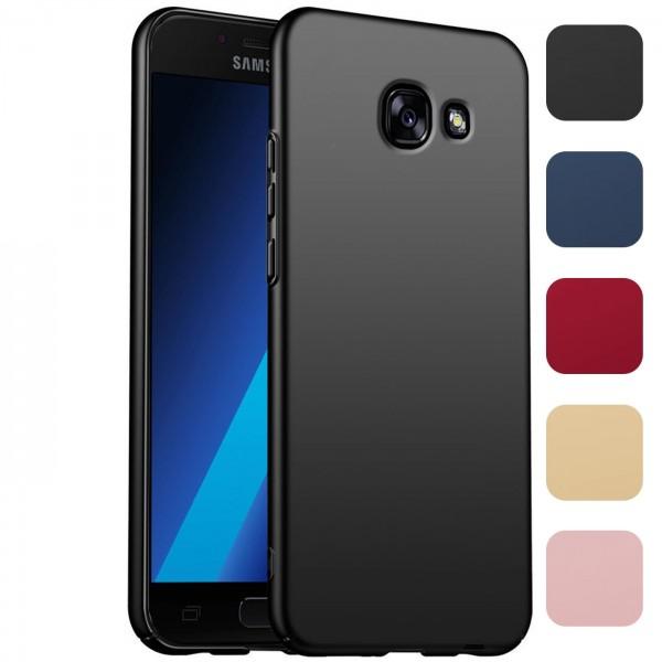 Safers Classic Plain für Samsung Galaxy A3 2017 Hülle Slim Cover Matt Schutzhülle