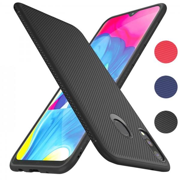 Safers Fancy für Samsung Galaxy M20 Handy Schutz Hülle Silikon Case Luxuriös Cover