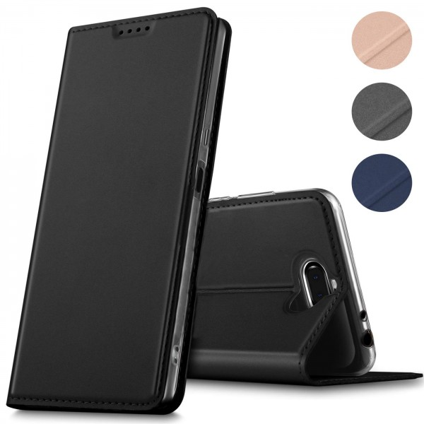 Safers Electro Flip für Sony Xperia 10 Hülle Magnet Case Handy Tasche Klapphülle