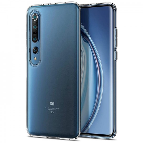 Safers Zero Case für Xiaomi Mi 10 / Mi 10 Pro Hülle Transparent Slim Cover Clear Schutzhülle