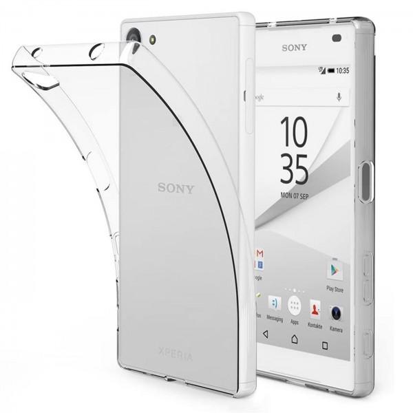 Safers Zero Case für Sony Xperia Z3 Compact Hülle Transparent Slim Cover Clear Schutzhülle