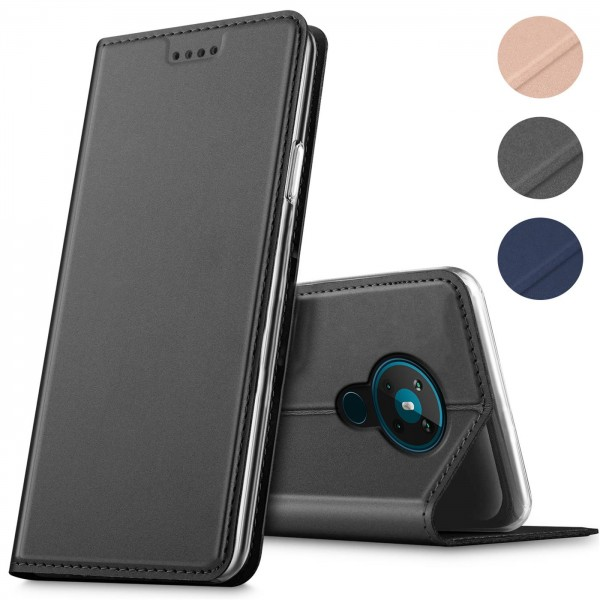 Safers Electro Flip für Nokia 5.3 Hülle Magnet Case Handy Tasche Klapphülle Slim Klapphülle