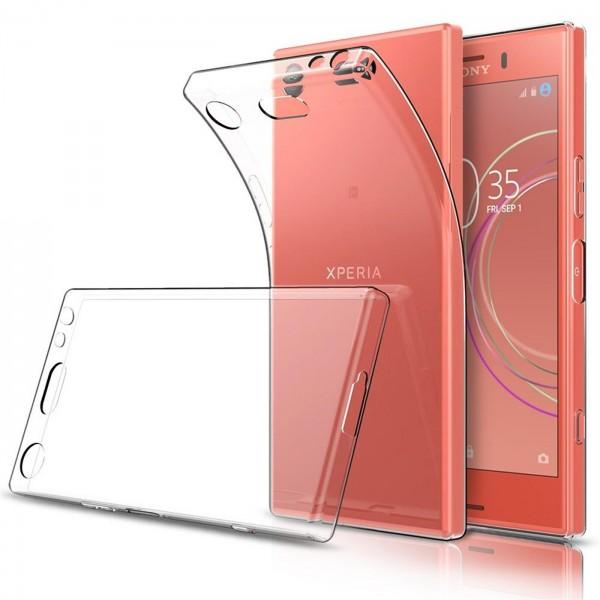 Safers Zero Case für Sony Xperia XZ1 Compact Hülle Transparent Slim Cover Clear Schutzhülle