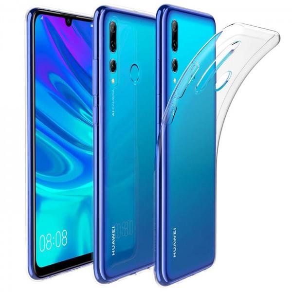 Safers Zero Case für Huawei P Smart+ 2019 Hülle Transparent Slim Cover Clear Schutzhülle