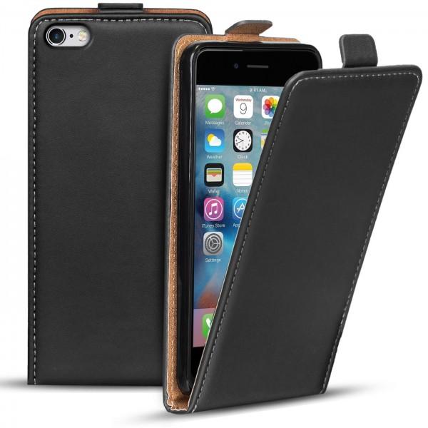 Safers Flipcase für Apple iPhone 6 Plus / 6S Plus Hülle Klapphülle Cover klassische Handy Schutzhüll