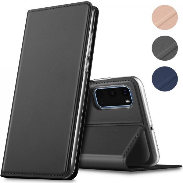 Safers Electro Flip für Samsung Galaxy S20 Hülle Magnet Case Handy Tasche Klapphülle