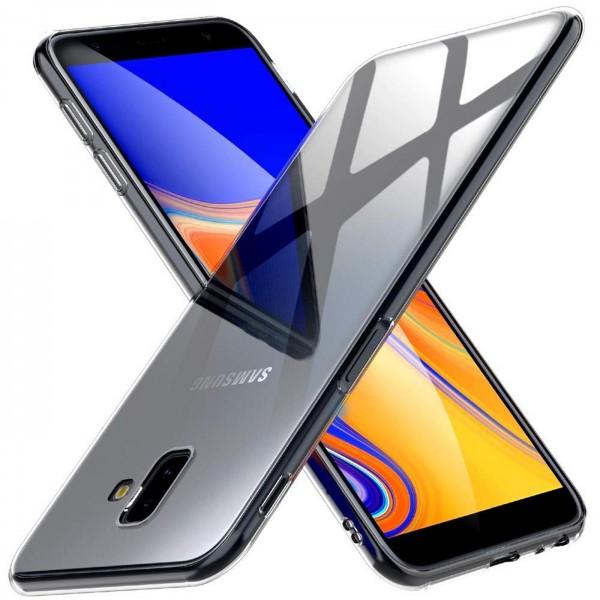 Safers Zero Case für Samsung Galaxy J6 Plus Hülle Transparent Slim Cover Clear Schutzhülle