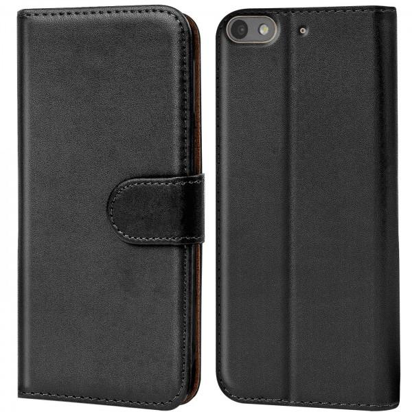 Safers Basic Wallet für Huawei G Play Mini Hülle Bookstyle Klapphülle Handy Schutz Tasche