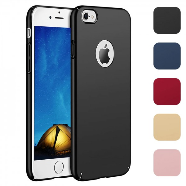 Safers Classic Plain für Apple iPhone 5 / 5S / SE Hülle Slim Cover Matt Schutzhülle