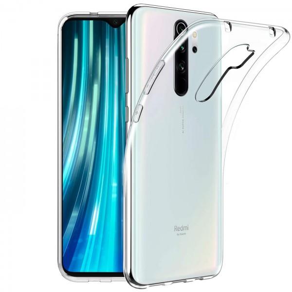 Safers Zero Case für Xiaomi Redmi Note 8 Pro Hülle Transparent Slim Cover Clear Schutzhülle