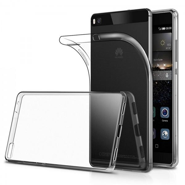 Safers Zero Case für Huawei P8 Hülle Transparent Slim Cover Clear Schutzhülle